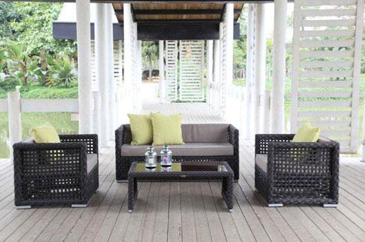 sch ne und moderne rattanm bel lounge online kaufen. Black Bedroom Furniture Sets. Home Design Ideas